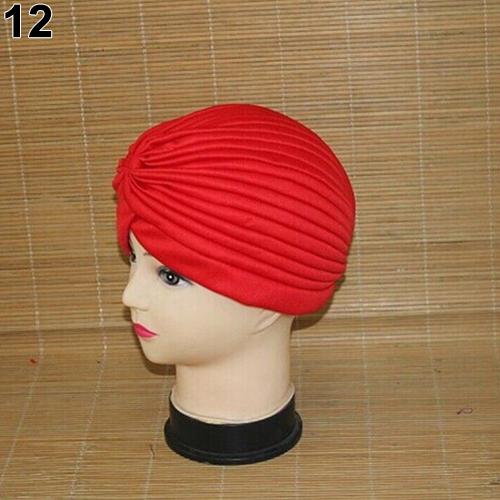 Turban-Hat-Cap-Hijab-Hairband-Bandana-Wrap-Hair-Loss-Chemo-Fancy-Indian-Plain-Ne thumbnail 29