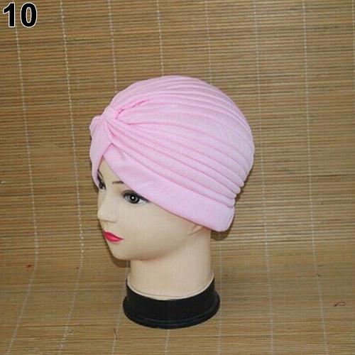 Turban-Hat-Cap-Hijab-Hairband-Bandana-Wrap-Hair-Loss-Chemo-Fancy-Indian-Plain-Ne thumbnail 24