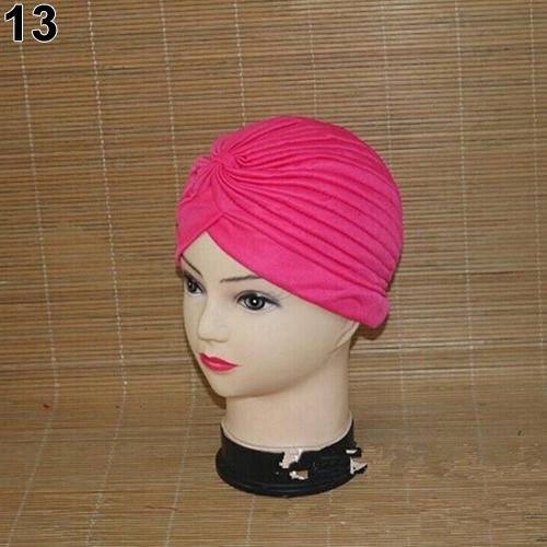Turban-Hat-Cap-Hijab-Hairband-Bandana-Wrap-Hair-Loss-Chemo-Fancy-Indian-Plain-Ne thumbnail 18