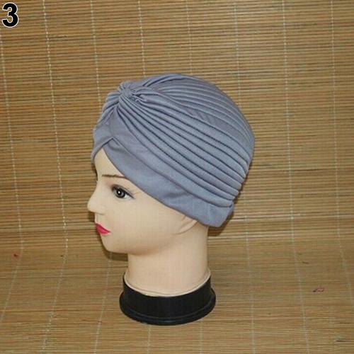 Turban-Hat-Cap-Hijab-Hairband-Bandana-Wrap-Hair-Loss-Chemo-Fancy-Indian-Plain-Ne thumbnail 11