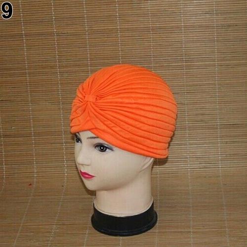 Turban-Hat-Cap-Hijab-Hairband-Bandana-Wrap-Hair-Loss-Chemo-Fancy-Indian-Plain-Ne thumbnail 23