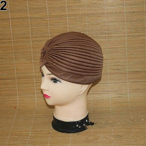 Turban-Hat-Cap-Hijab-Hairband-Bandana-Wrap-Hair-Loss-Chemo-Fancy-Indian-Plain-Ne thumbnail 21