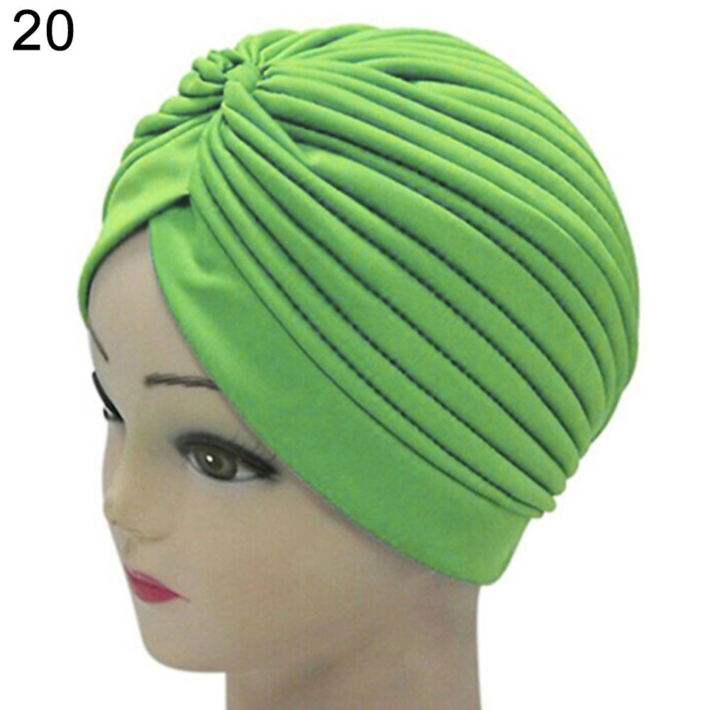 Turban-Hat-Cap-Hijab-Hairband-Bandana-Wrap-Hair-Loss-Chemo-Fancy-Indian-Plain-Ne thumbnail 10